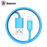 Baseus 1m 8pin USB Cable Data Sync Charging Adapter Cable For iPhone 7 6 6S Plus SE 5S 5 iPad mini iPod Charger