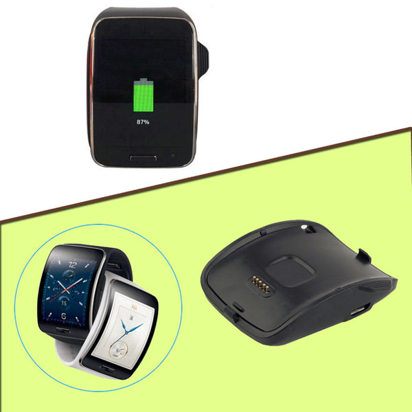 Charging Dock Charging Dock Charger Cradle For Samsung Galaxy Gear S Smart Watch SM-R750 with USB cable High Quality