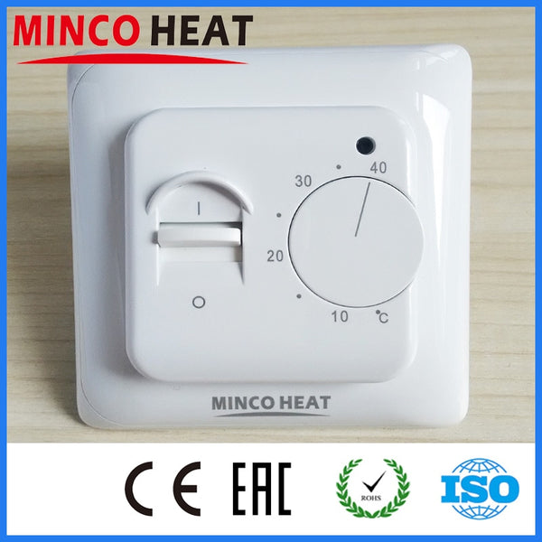 Electric Floor Heating Room Thermostat Manual Warm Floor Cable Use Termostat 220V 16A Temperature Controller Instrument (1PC)