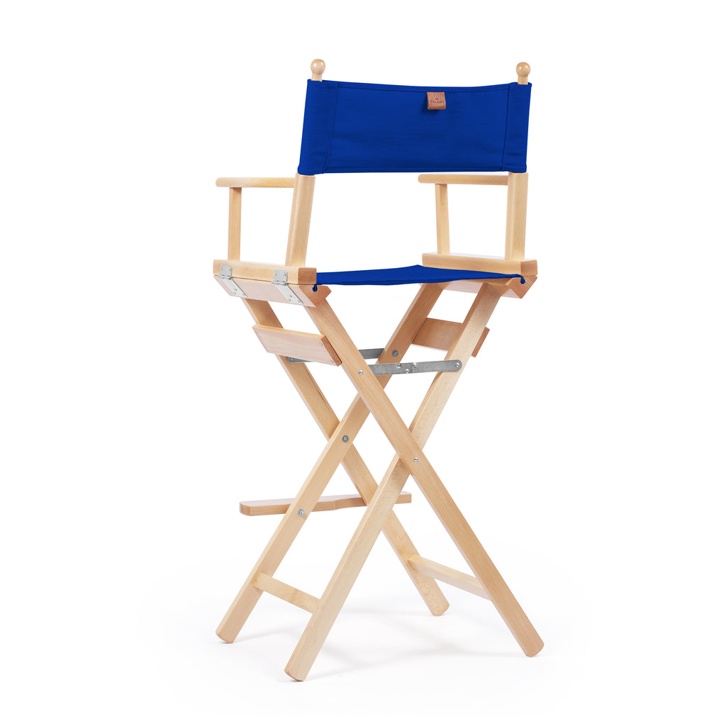 Director's Chair Make-Up Primary Blue