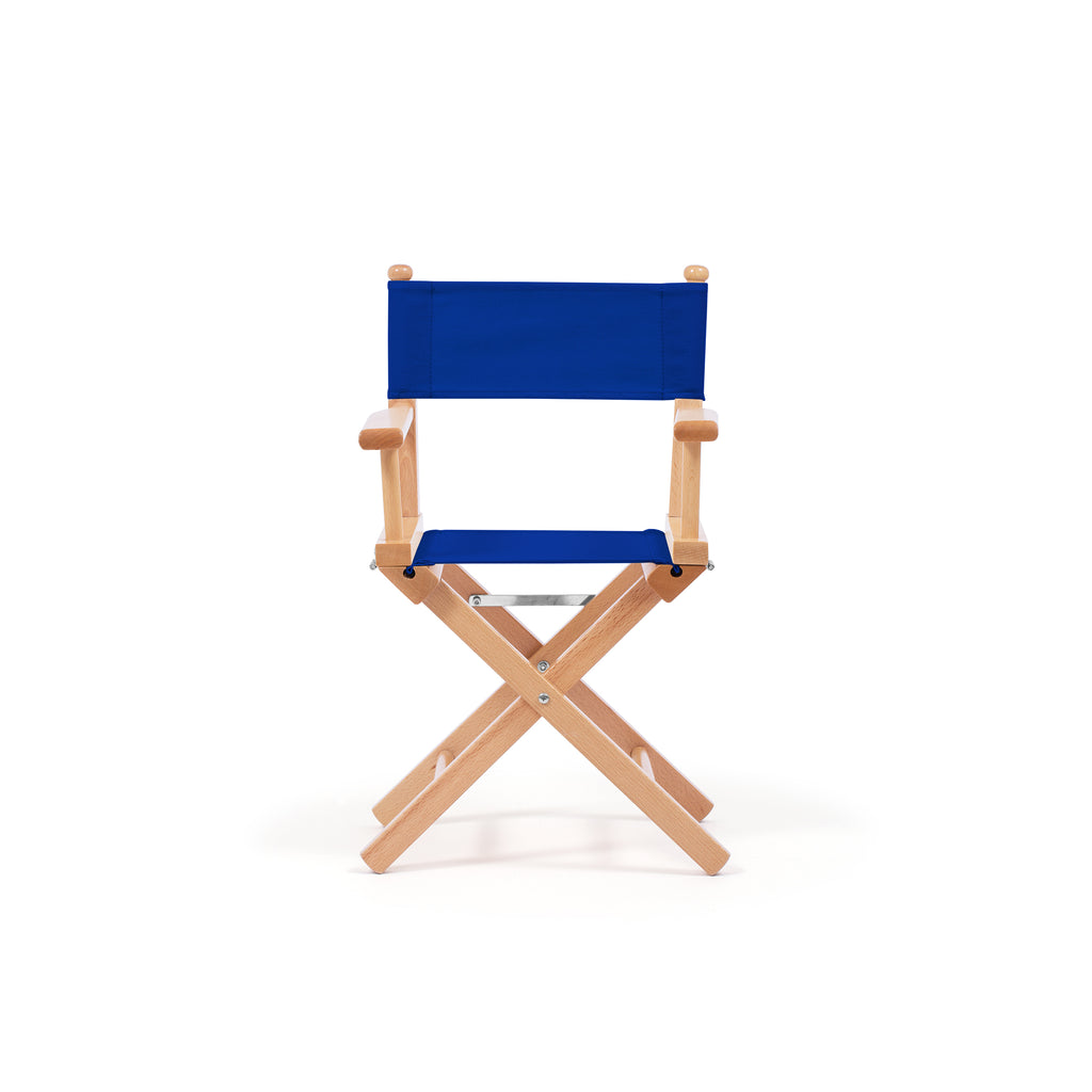 Petit Director's Chair Primary Blue