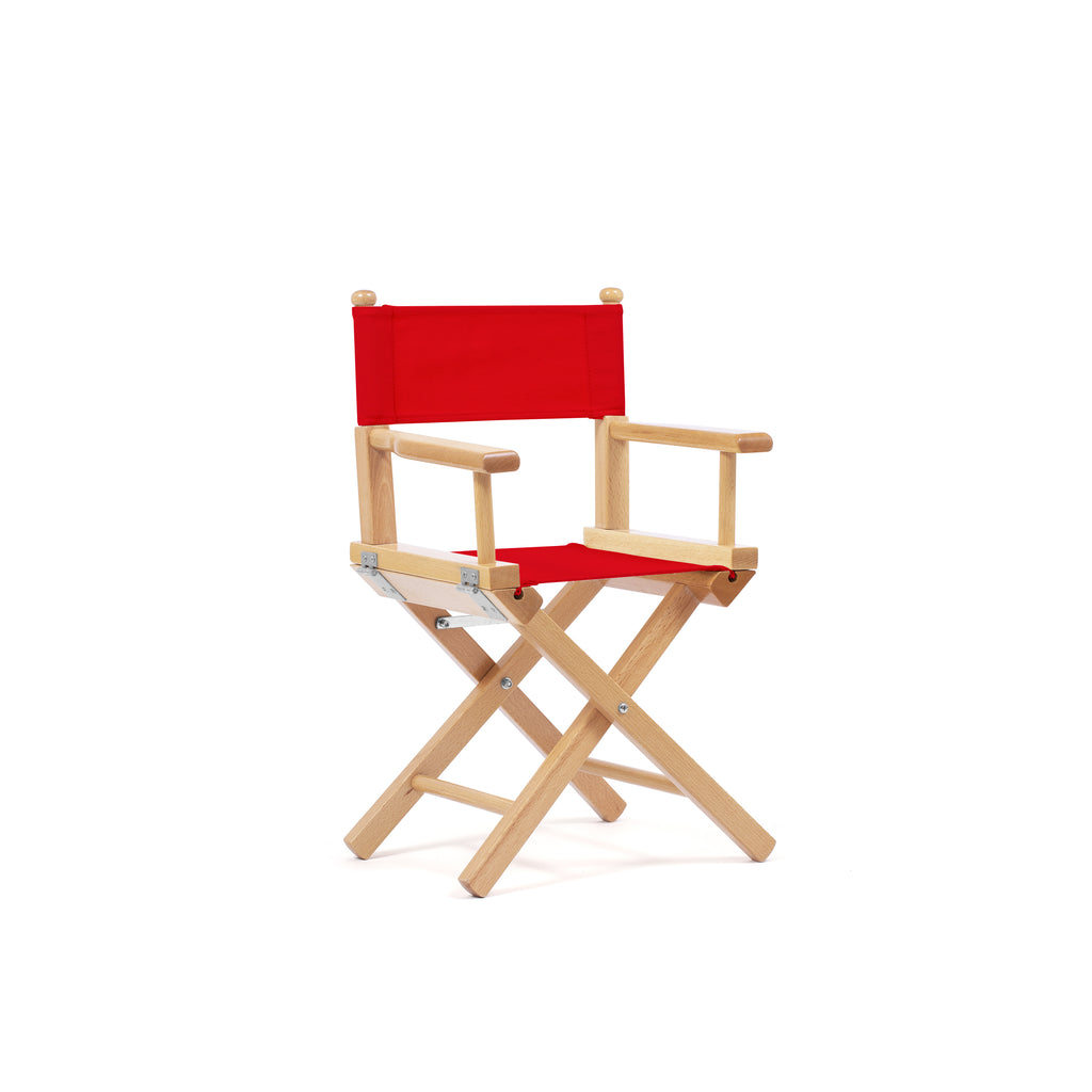 Petit Director's Chair Primary Red