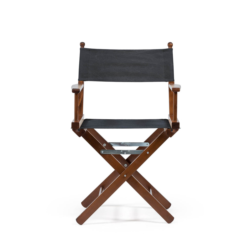 Director's Chair Charcoal Black