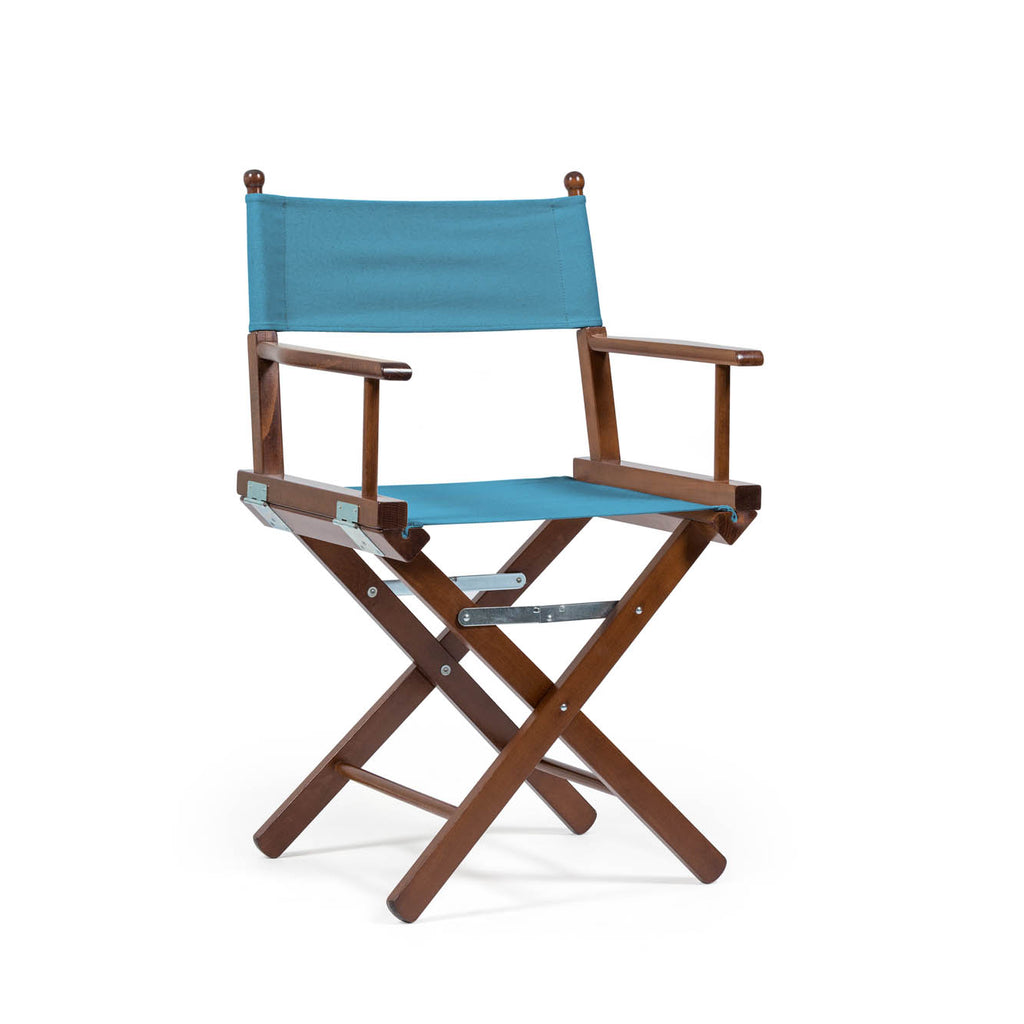 Director's Chair Teal Blue