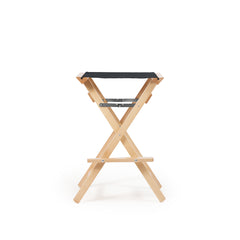 High Stool Charcoal Black