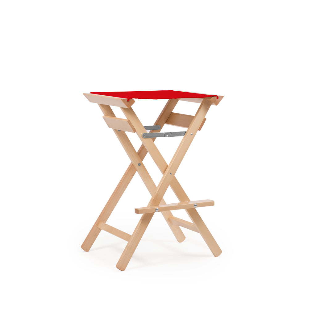 High Stool Primary Red