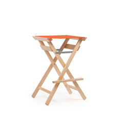 High Stool Terracotta Red