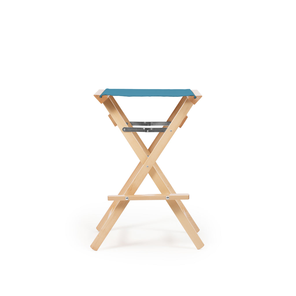 High Stool Teal Blue