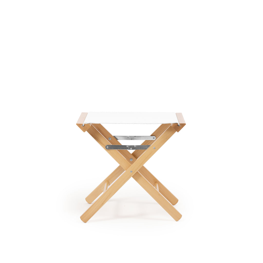 Low Stool Pure White