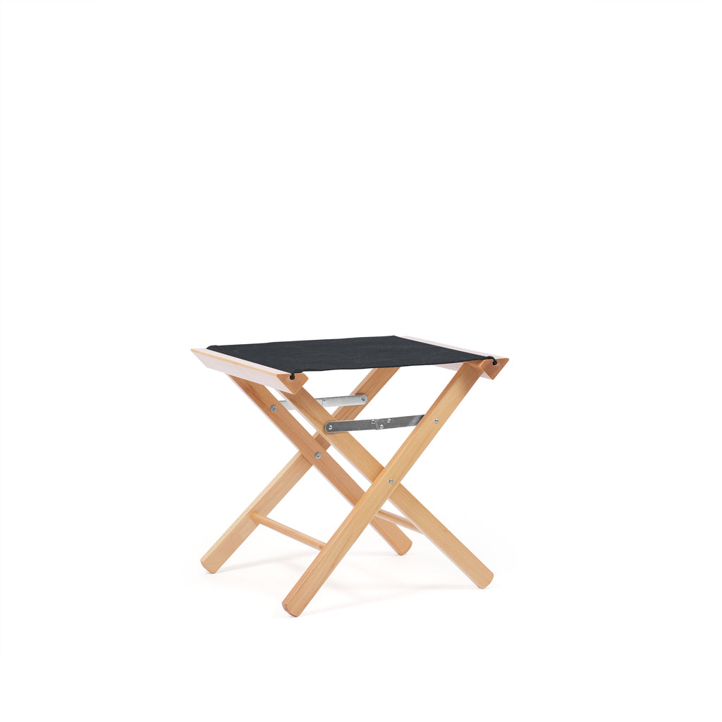 Low Stool Charcoal Black