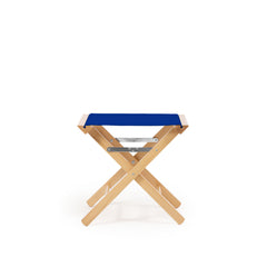Low Stool Primary Blue