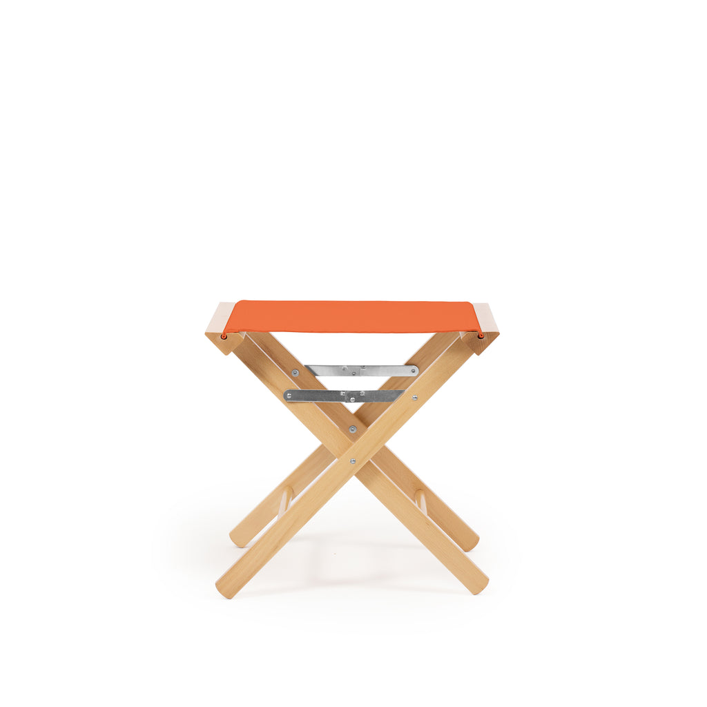 Low Stool Terracotta Red