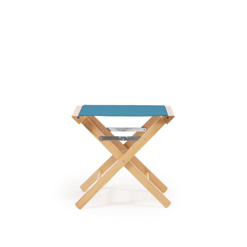 Low Stool Teal Blue