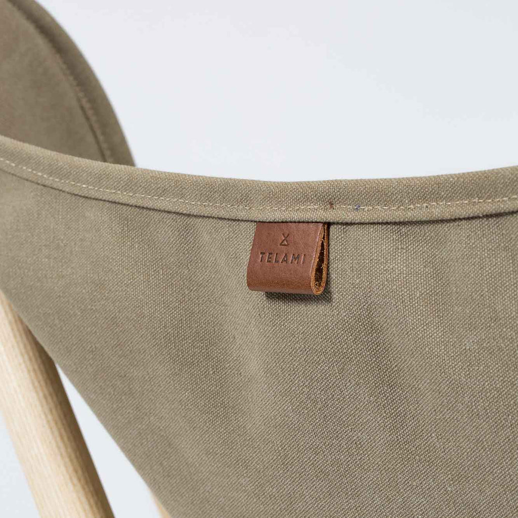 Tripolina Telami Jeans Canvas Ecru is the Original Tripolina chair canvas, for fashion Design Made in Italy