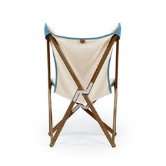Telami Tripolina chair is the timeless folding chair, like butterfly, the iconic outdoor furniture. Relax on your sofa or on your Tripolina.