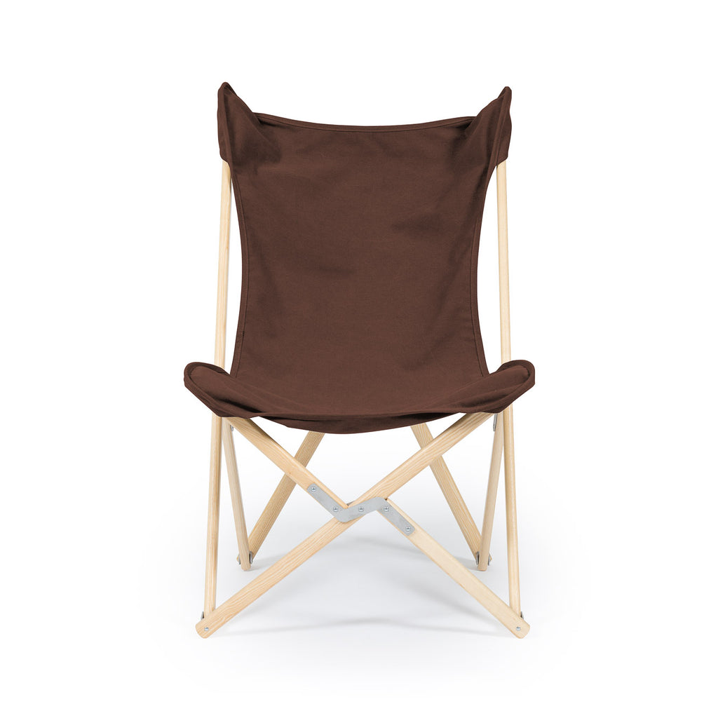 Telami Tripolina is the iconic made in italy armchair. Telami Tripolina chair is the timeless folding chair, like butterfly. Telami new canvas is fashion. Relax on your sofa or on your Tripolina