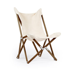 Telami Tripolina is a made in Italy design chair. Telami Tripolina is the original chair. Tripolina Ecru is the iconic armchair, the design legend folding chair and patio chair