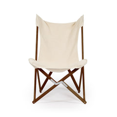 Telami Tripolina is a made in Italy design chair. Telami Tripolina is the original chair. Tripolina Ecru is the iconic armchair, the design legend folding chair and patio chair for outdoor furniture