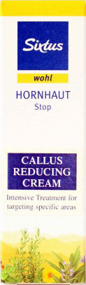 Sixtus Callus Reducing Cream 30ml