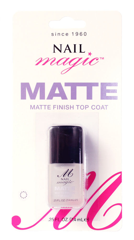 NAIL MAGIC MATTE FINISH TOPCOAT 7.4ml