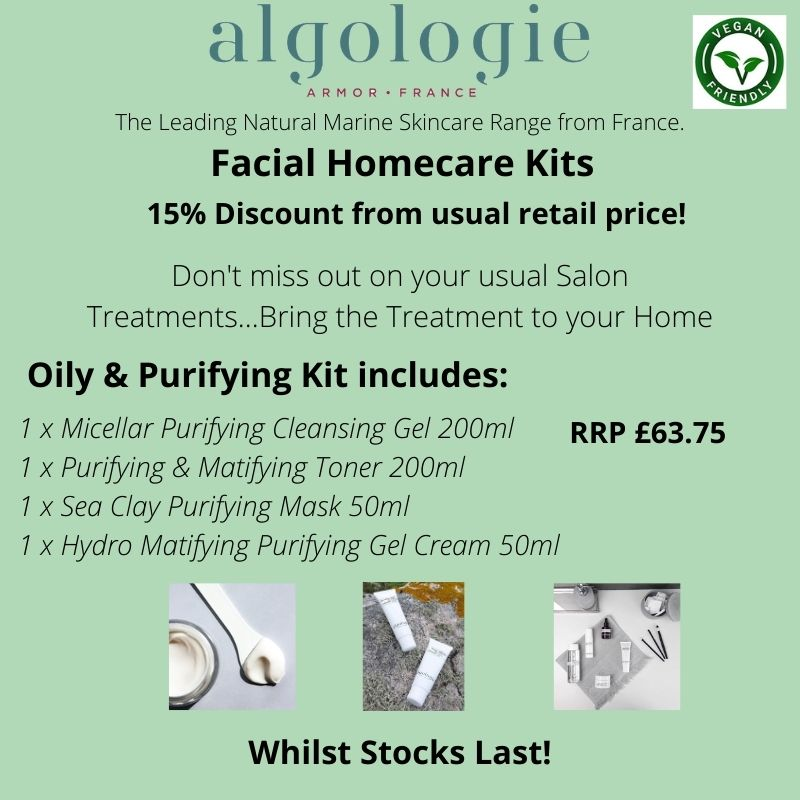Algologie Oily and Purifying Facial Kit