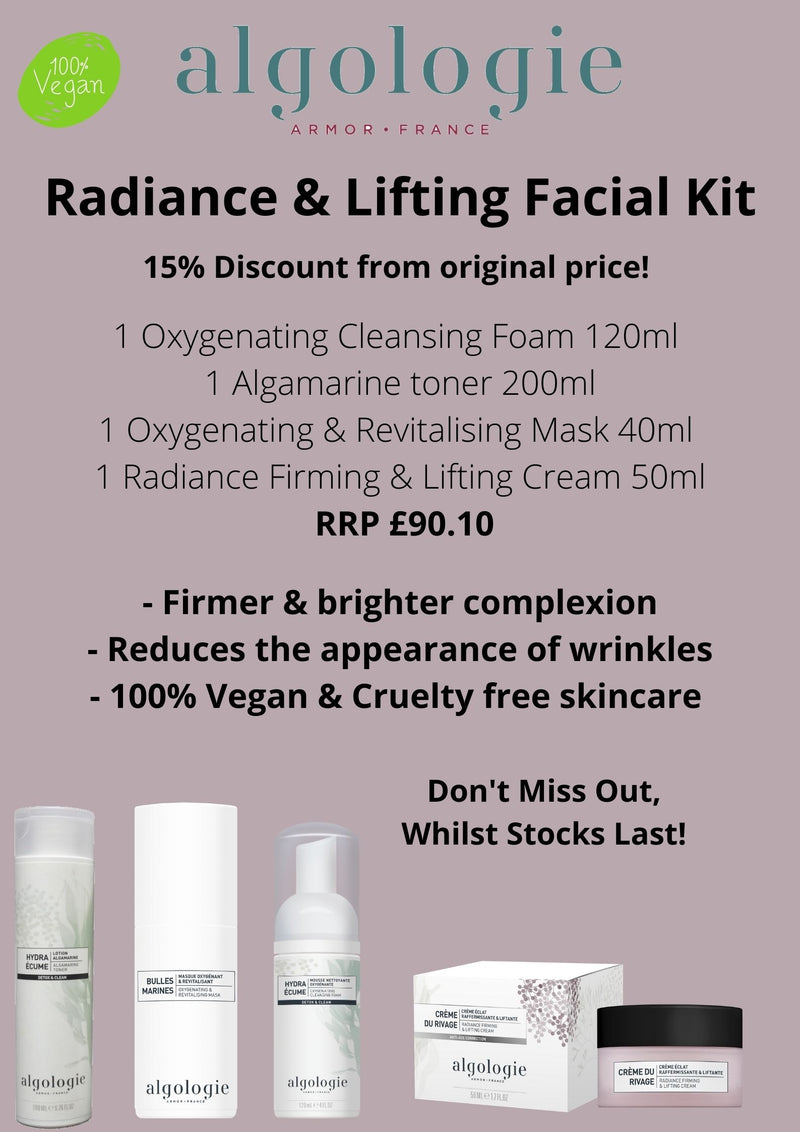 Algologie Radiance and Lifting Facial Kit