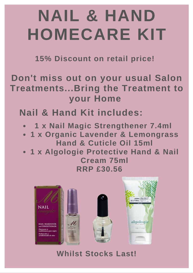 Nail Magic and Algologie Nail and Hand Home Care Kit