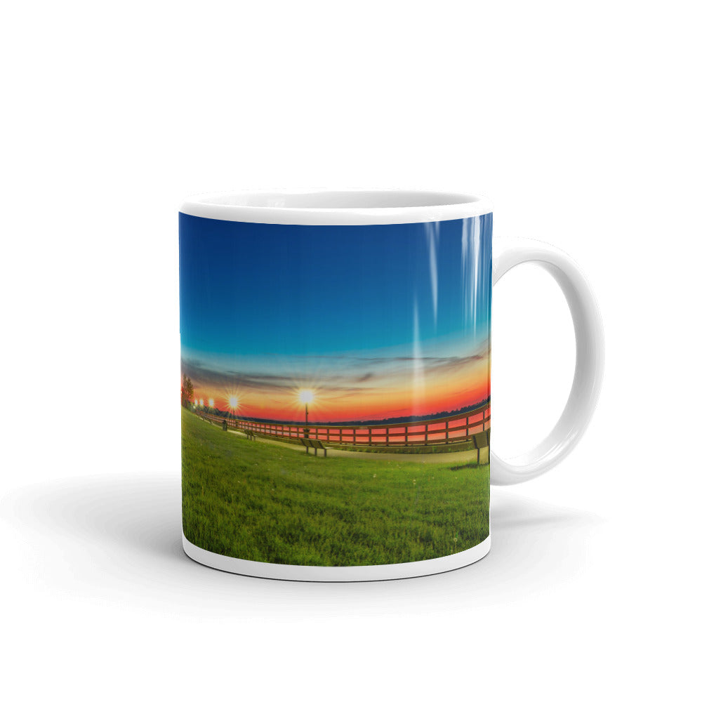 Bishop Park Fire In The Sky Coffee Mug (2 sizes)