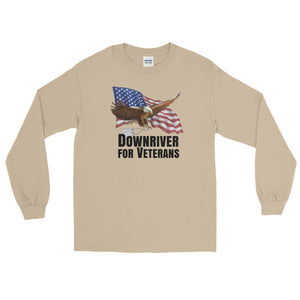 Downriver For Veterans Long Sleeve T-Shirt (6 colors)