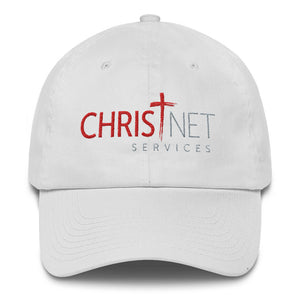 ChristNet Embroidered Cotton Unstructured Hat