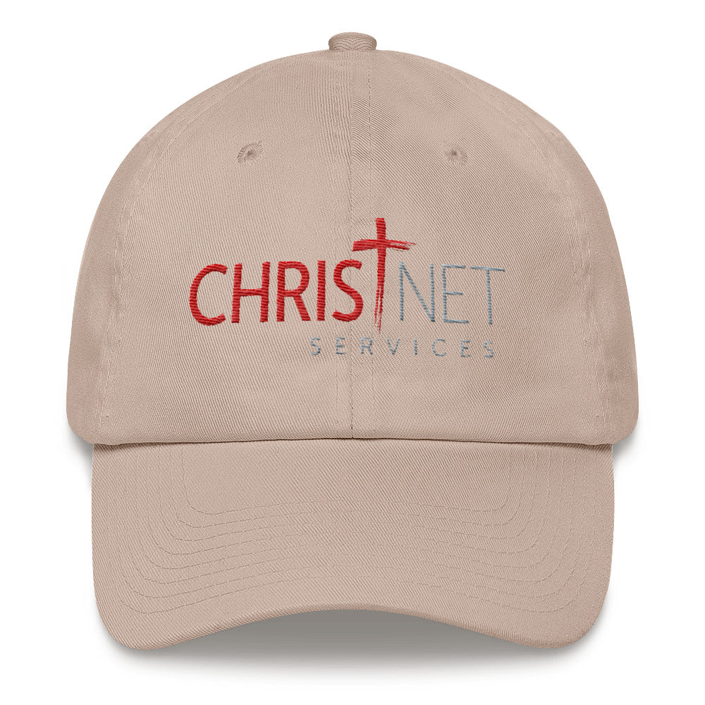 ChristNet Embroidered Cotton Unstructured Dad hat