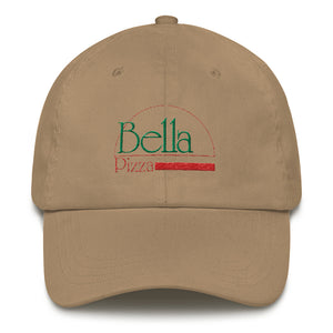 Bella Pizza Low Profile Embroidered Hat (4 colors)