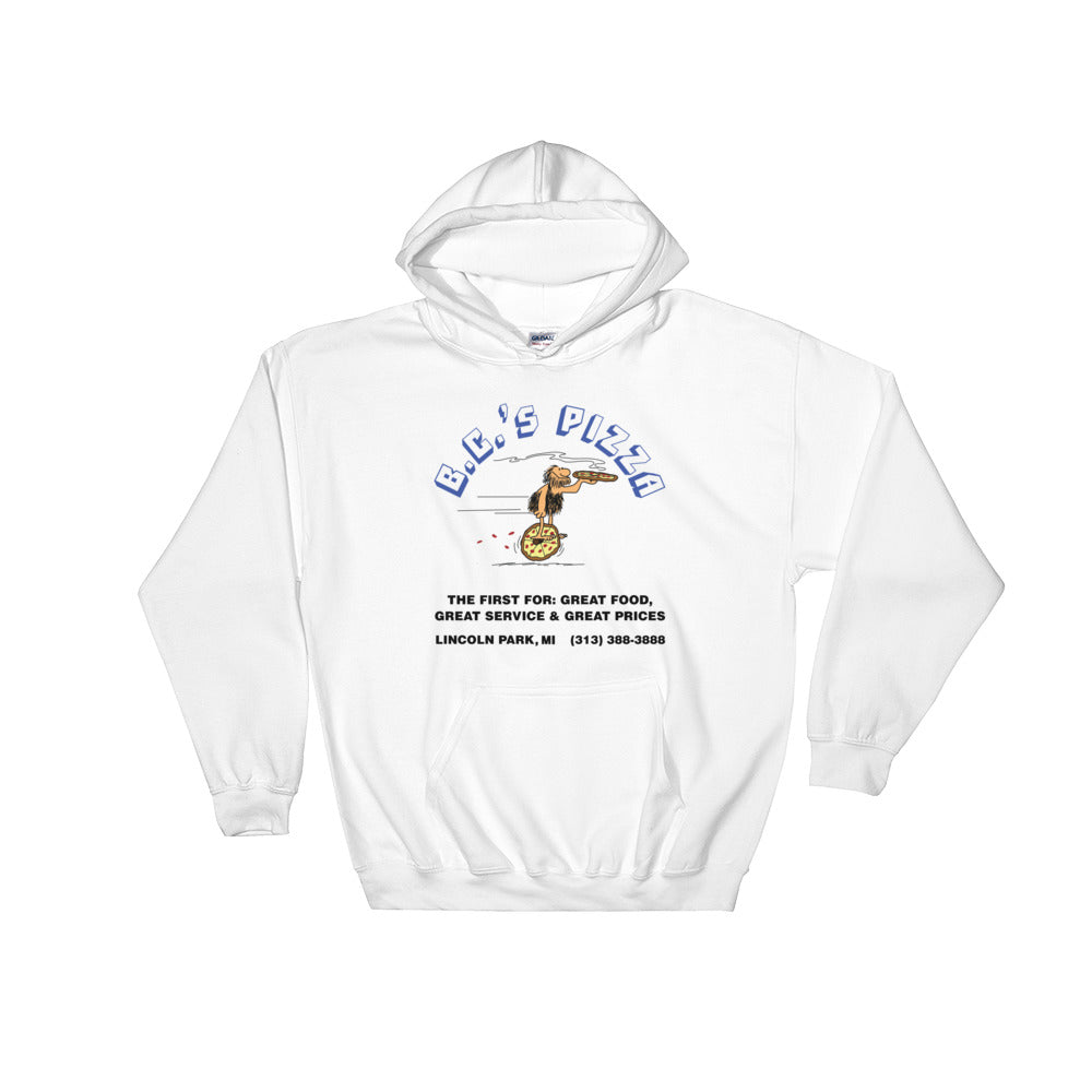 B.C.'s Pizza Hooded Sweatshirt (2 colors)