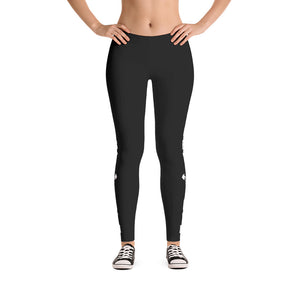 Victory Gym Black Leggings