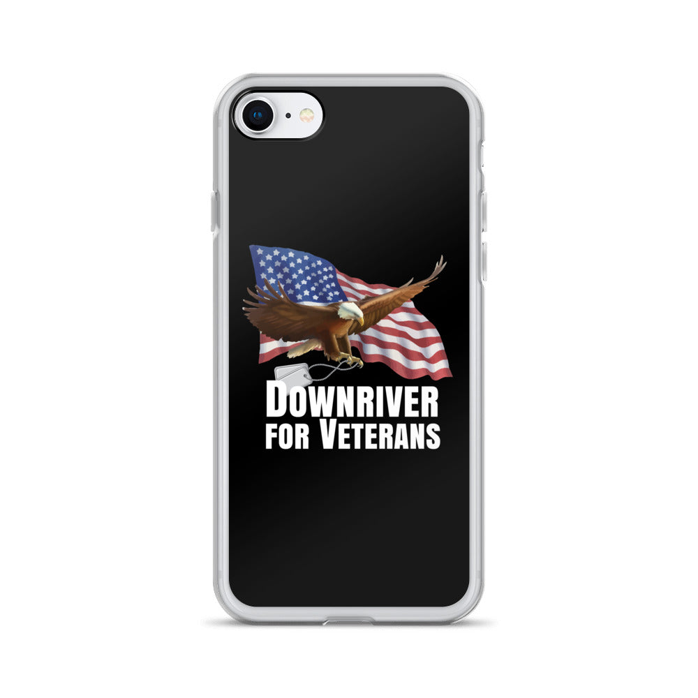 Downriver For Veterans iPhone Case