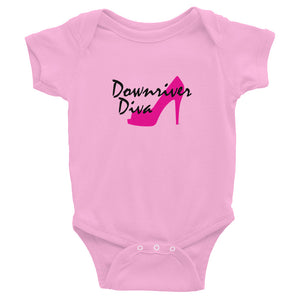 Downriver Diva Infant Bodysuit (3 colors)