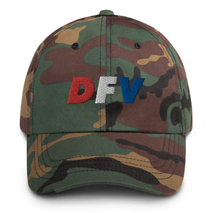 Downriver For Veterans DFV Embroidered Camo Hat