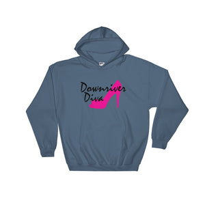 Downriver Diva Hooded Sweatshirt (6 colors)