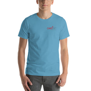 ChristNet Left Chest Print Short-Sleeve Unisex T-Shirt  (9 Colors)