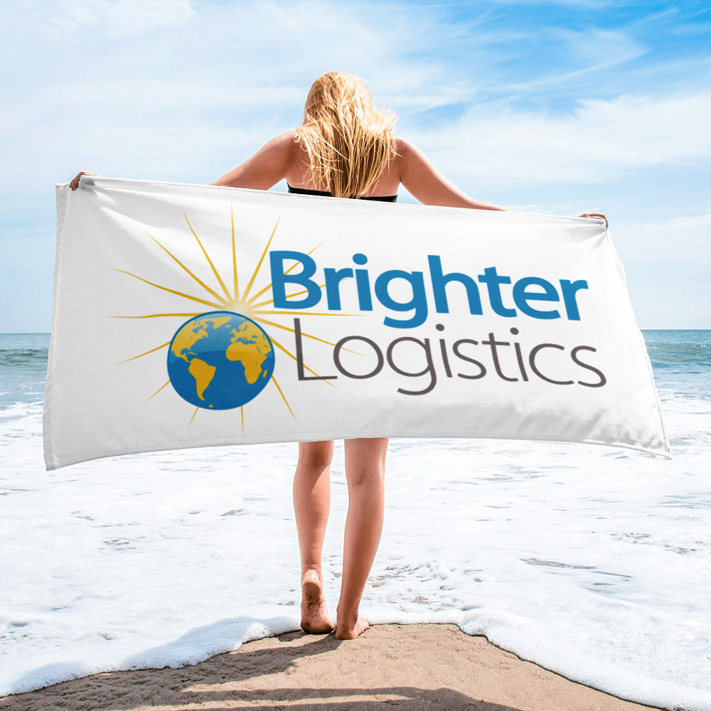 Brighter Logistics Beach Towel