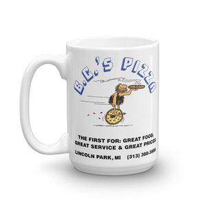 B.C.'s Pizza Coffee Mug (2 sizes)