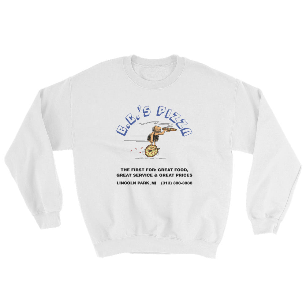 B.C.'s Pizza Sweatshirt (3 colors)