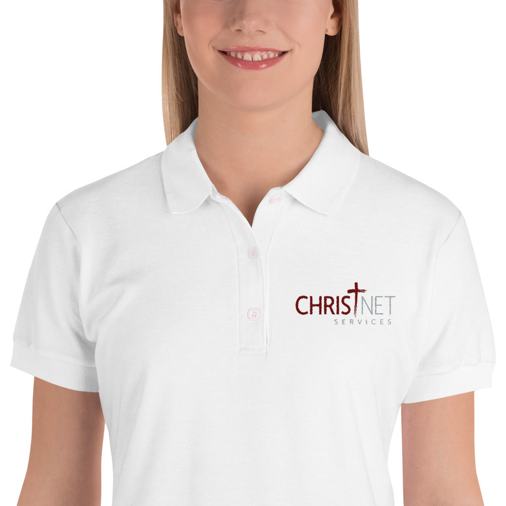 ChristNet Embroidered Women's Polo Shirt