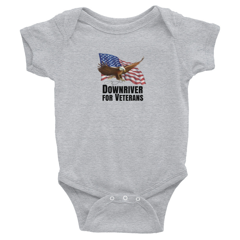 Downriver For Veterans Infant Bodysuit (3 colors)