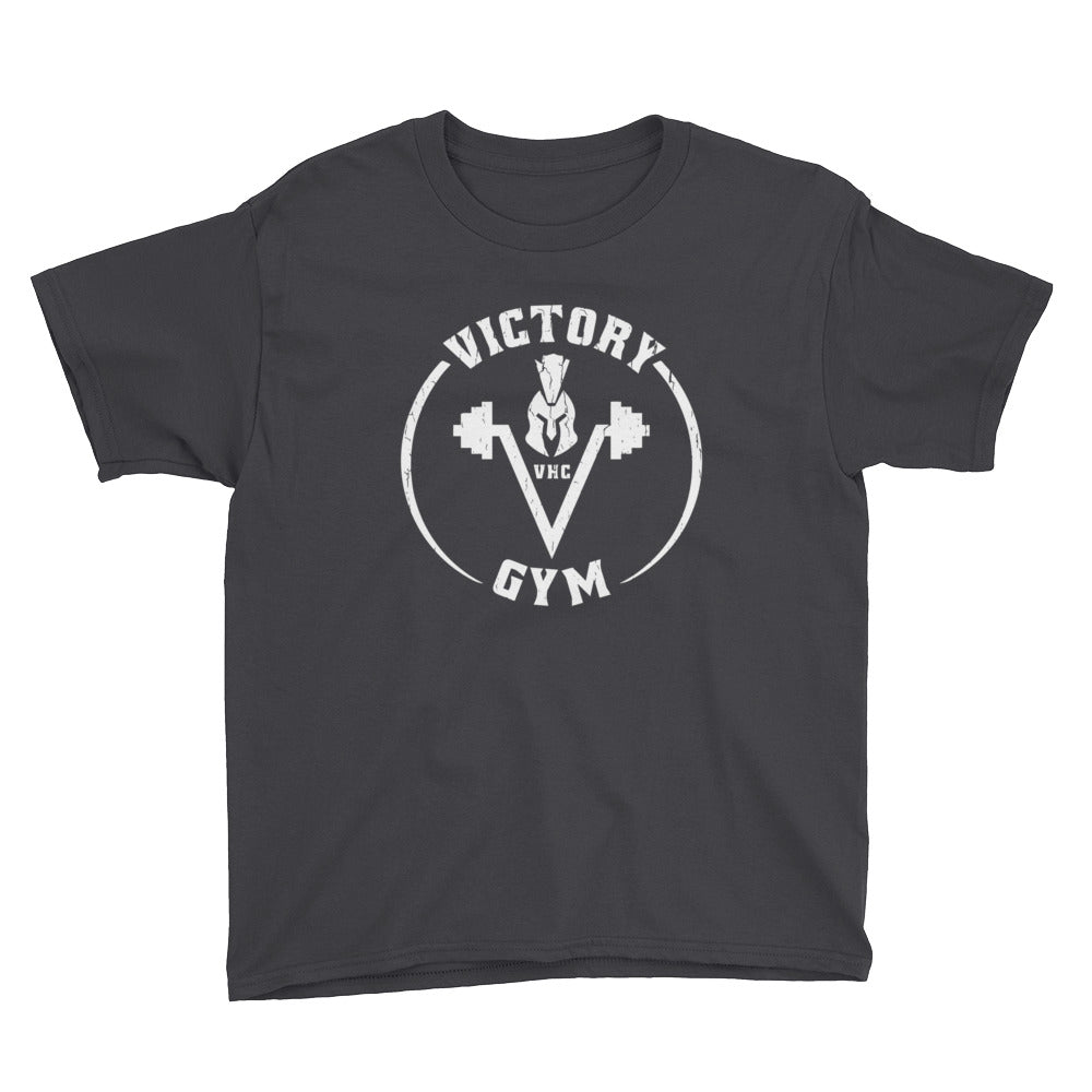 Victory Gym Black Youth Short Sleeve T-Shirt