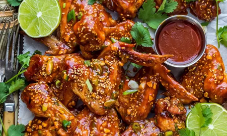 Smoked Korean-Style Wings | Slow-Cooked Recipes You Need To Try In Lockdown | Outdoor Concepts NZ