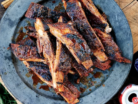 Sweet-and-Spicy Ribs