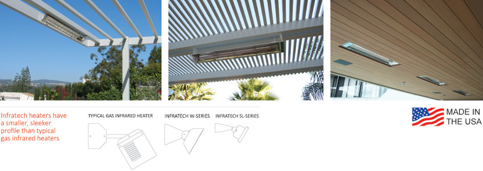 Infratech Heaters | Outdoor Heating | Outdoor Concepts Auckland New Zealand