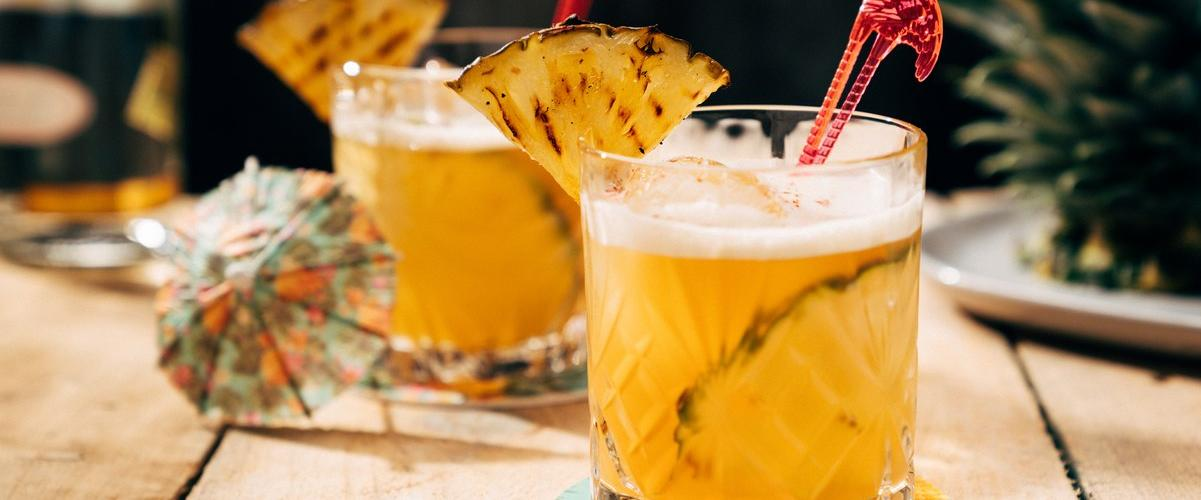 Fiery Pineapple Mezcal Cocktail | Slow-Cooked Recipes You Need To Try In Lockdown | Outdoor Concepts NZ