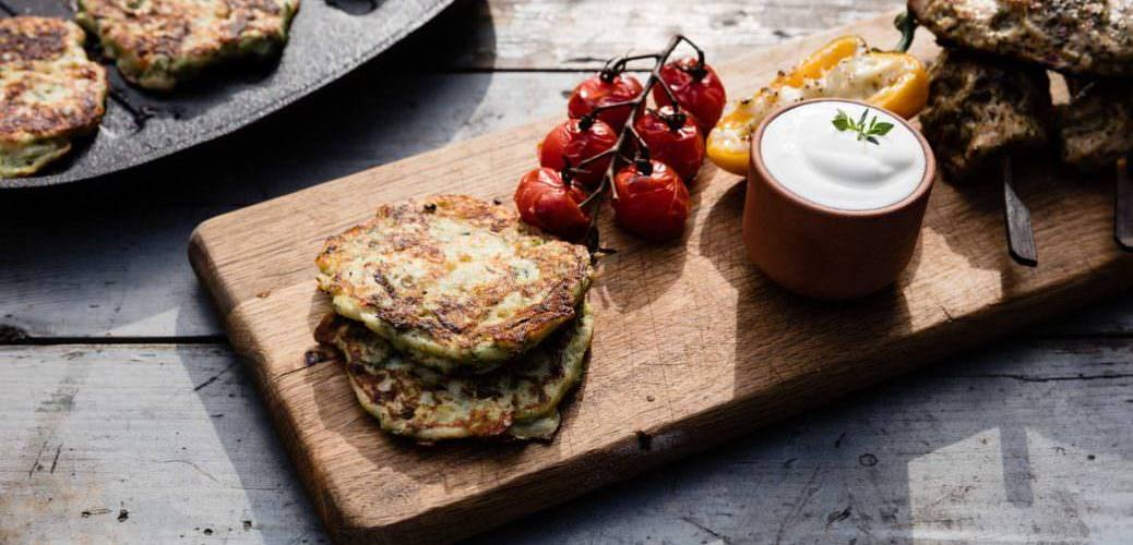 Zucchini Fritters   Our 12 Favourite Ooni Recipes   Outdoor Concepts NZ